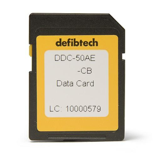Medium Capacity Data Card - Audio Enabled - Defibtech DDC-50AE