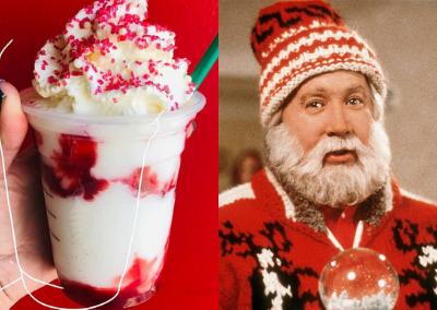 Here's How to Order a Santa Clause Frappuccino from Starbucks Secret Menu
