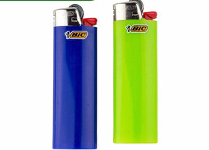 2 Assorted Bic Lighters