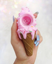 Load image into Gallery viewer, Silicone Ice Cream Cone Pipe! Mystery color