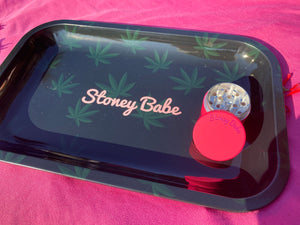 Stoney Babe Metal Rolling Tray