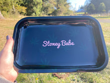 Load image into Gallery viewer, Stoney Babe Metal Rolling Tray