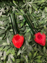 Load image into Gallery viewer, Large Stem Strawberry Hand Pipe