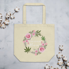 Load image into Gallery viewer, Eco Canna Mama Tote Bag