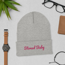 Load image into Gallery viewer, Stoner Girl 420 friendly Cuffed Beanie