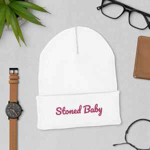 Stoner Girl 420 friendly Cuffed Beanie