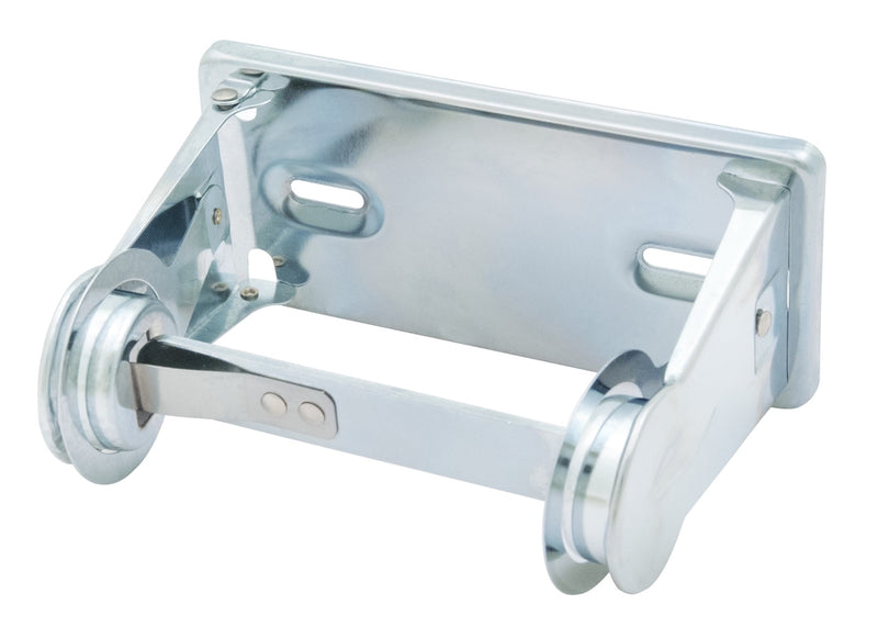 Chrome Single Roll Vandal Resistant Toilet Tissue Dispenser -  Bradley-5054-000000