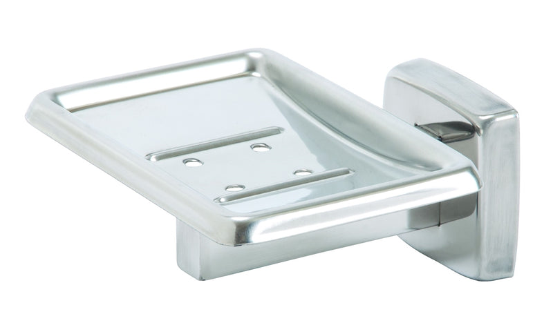 Soap Dish, Polished SS, Surface Mount - Bradley - 9015-000000