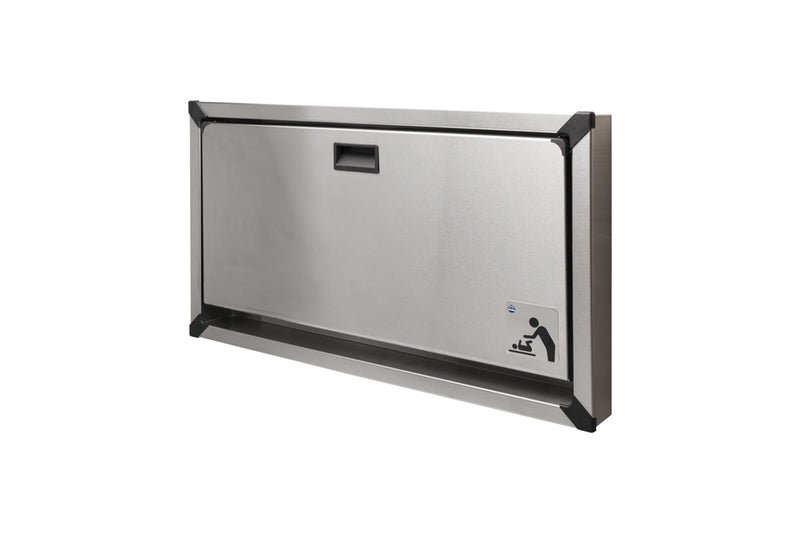 Baby Changing Station, Stainless, Recessed - Bradley-962-000000