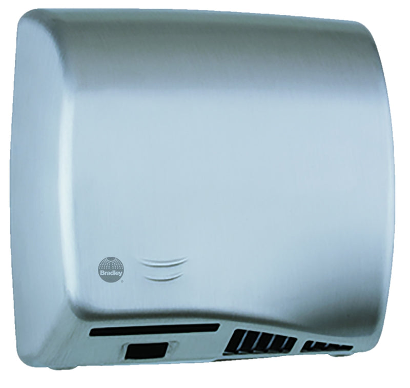 Hand Dryer, Sensor, SS, Surface-Bradley - 2902-287400
