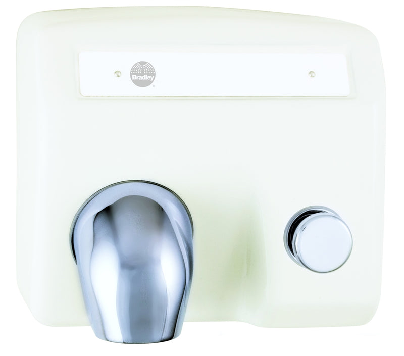 Hand Dryer, Push Button, Cast Iron - Bradley - 2904-280000