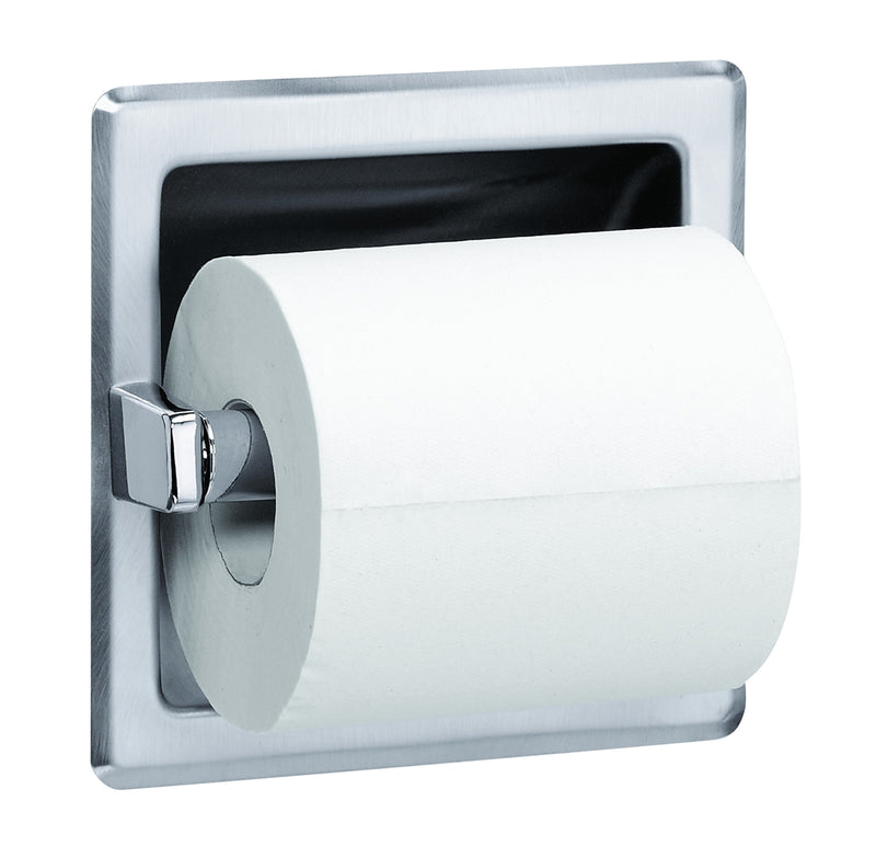Toilet Tissue Dispenser, Recessed,Single - Bradley - 5104-000000