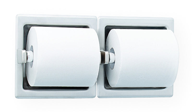 Toilet Tissue Dispenser, Rec, Dual - Bradley - 5124-000000