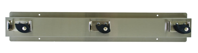 Mop & Broom Holder, Stainless Steel - Bradley - 9953-000000