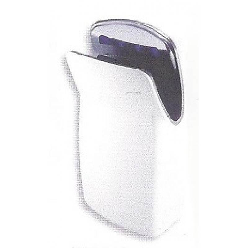 Hand Dryer, Dual Sided, ABS White, 10 To 12 Second Drying Time - Bradley 2921-WOOO