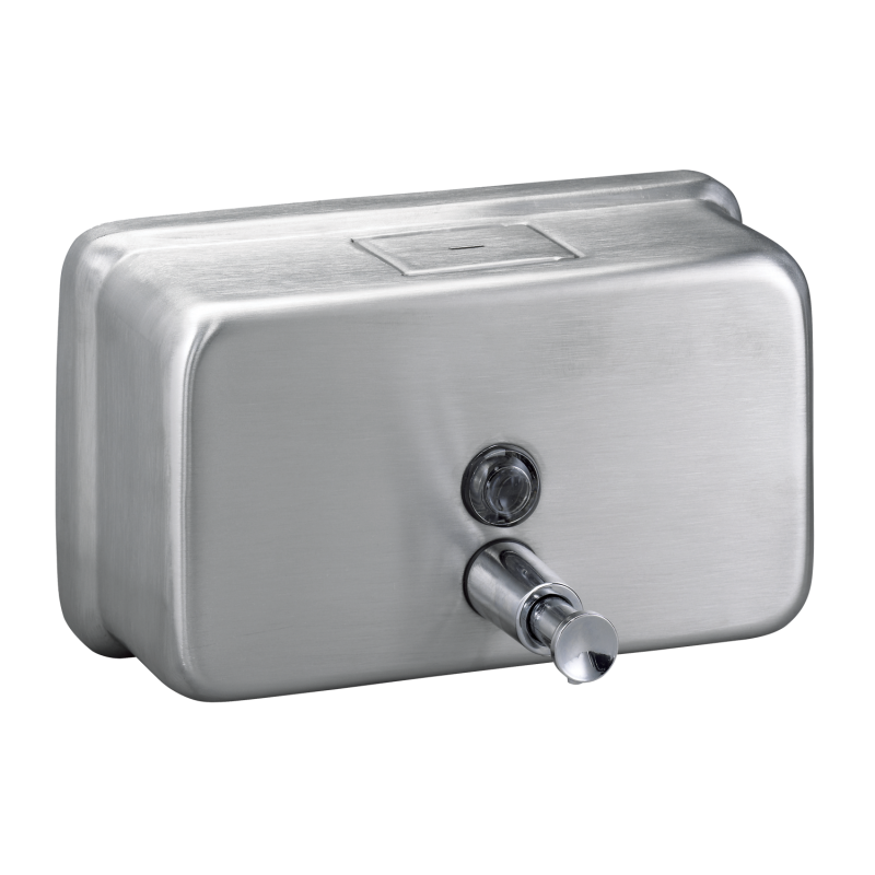 Stainless Steel, Surface Mount Horizontal Soap Dispenser- Bradley-6542