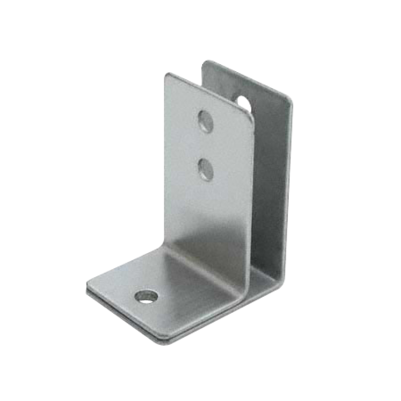 "Stamped Stainless Steel, One Ear Urinal Screen Bracket For 1/2"" Material - 0147"