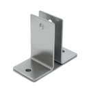 "Stamped Stainless Steel, Two Ear 1/2"" Wall Bracket - 0156"