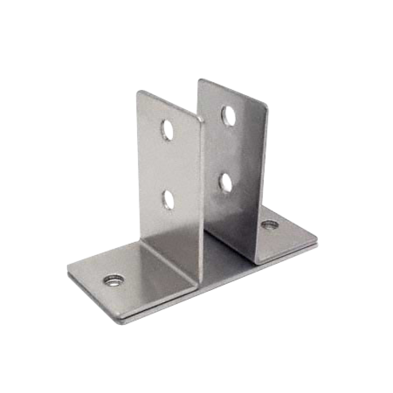 "Stamped Stainless Steel, 2 Ear Urinal Screen Bracket For 7/8"" Material - 0160"