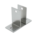 "Stamped Stainless Steel, Two Ear 7/8"" Wall Bracket - 0163"