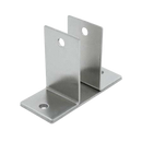 Stamped Stainless Steel, Wall Bracket 0175