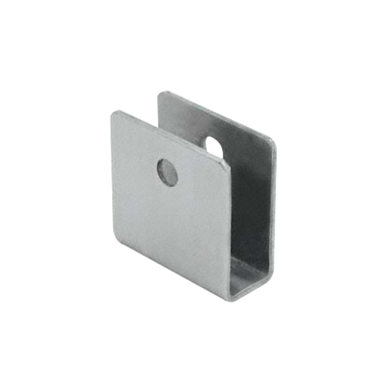 "Stamped Stainless Steel, ""U"" Bracket For 1/2"" Material - 0187"