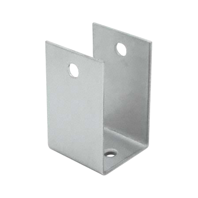 "Stamped Stainless Steel, X-High ""U"" Bracket For 7/8"" Material - 0197"