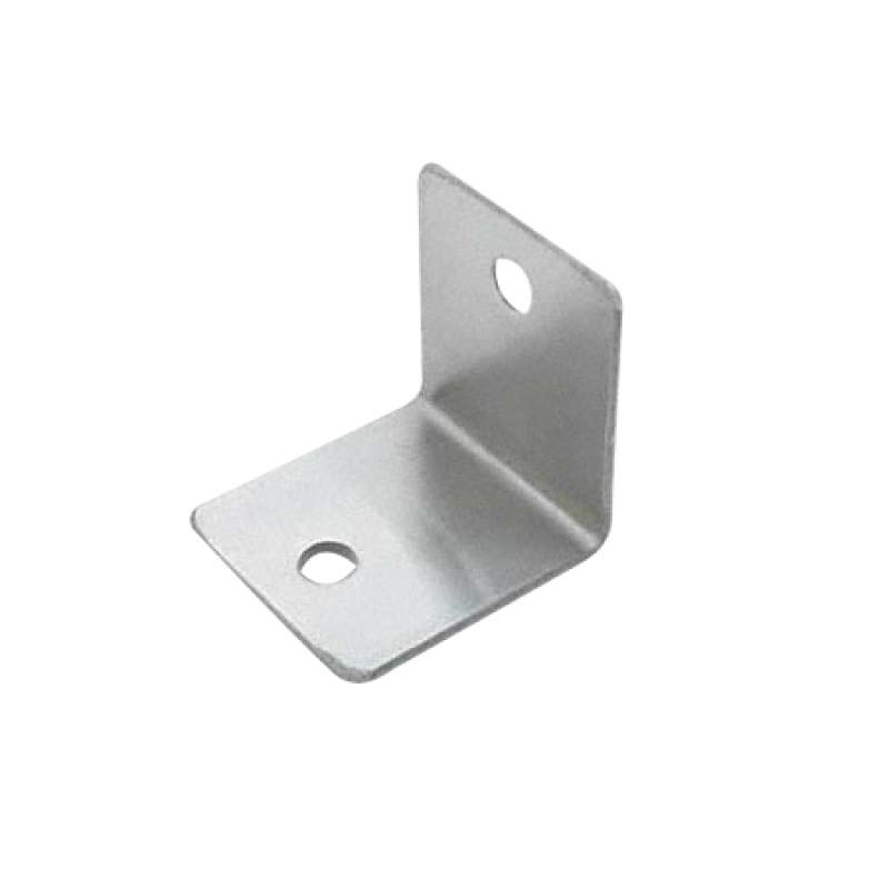 Toilet Partition, Stamped Stainless Steel Angle Bracket Set of 4 - 0201
