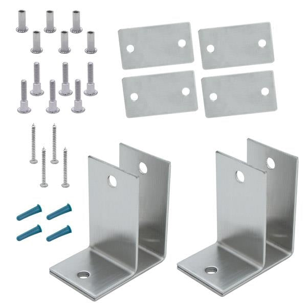 Stainless Steel, 1 Ear Alcove Pack - 061567