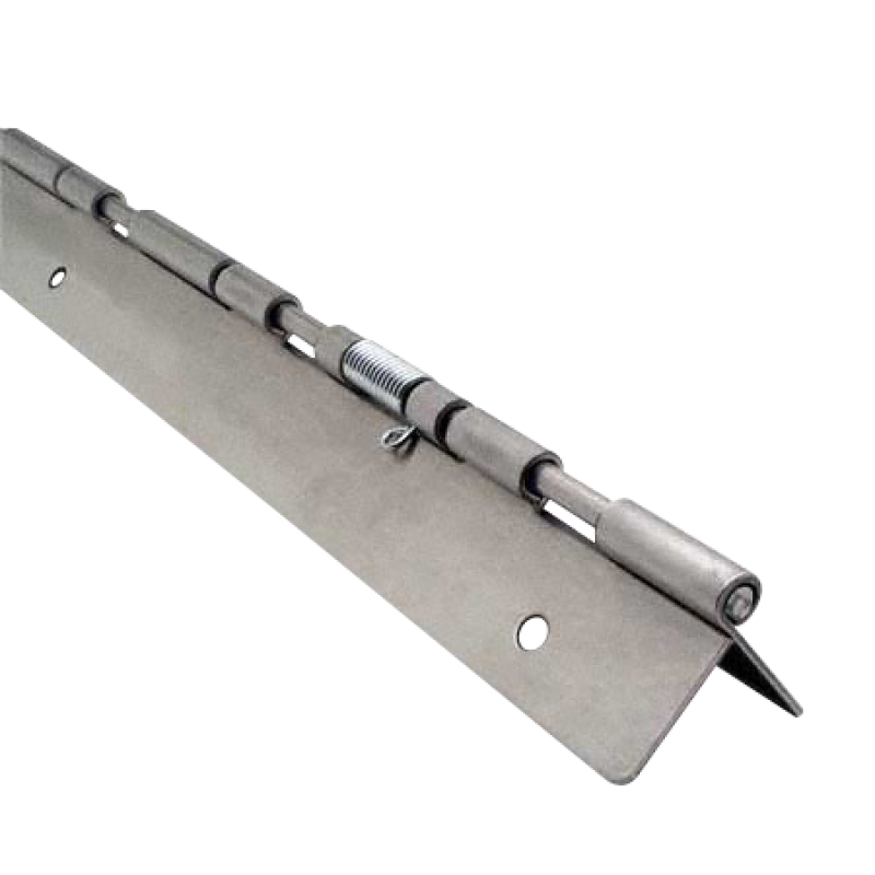 "Stainless Steel Continuous Piano Hinge, 57-1/2"" 0734"