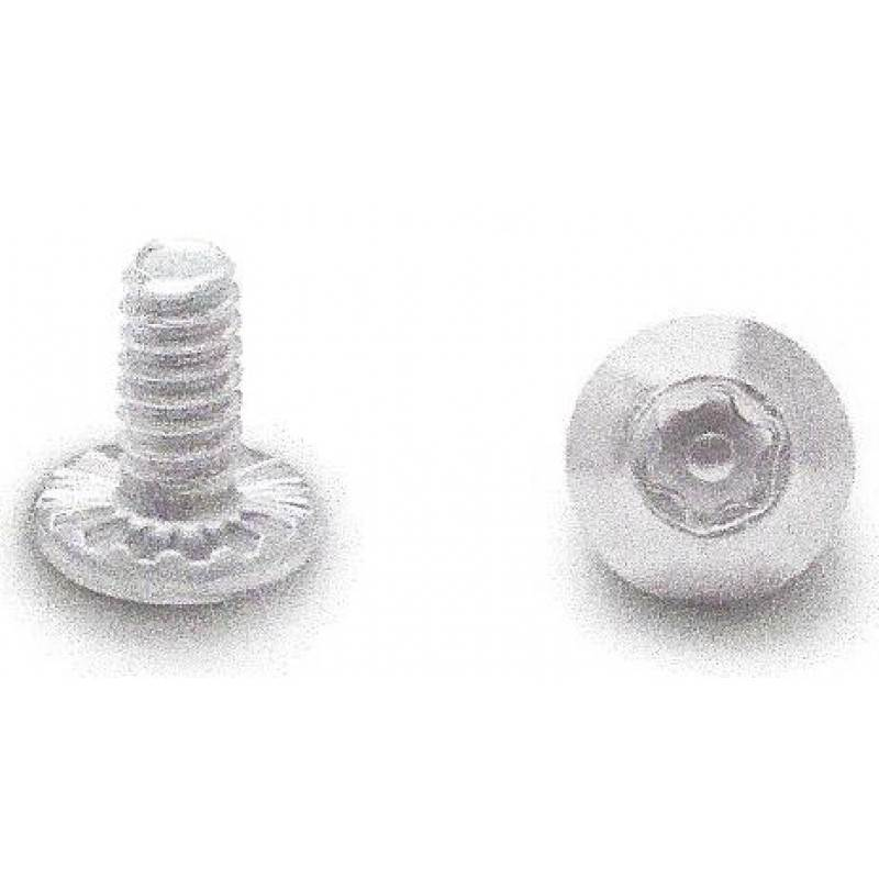 "Stainless Steel, 10-24 X 3/8"" 6 Lobe, Security Shoulder Screw With Center Pin 100pk 08822"