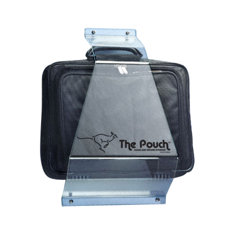 Bathroom Stall Personal Item Carrier, The Pouch 111030