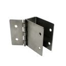 "Stamped Stainless Steel, Hinged Wall Bracket For 1-1/4"" Material - 011136"