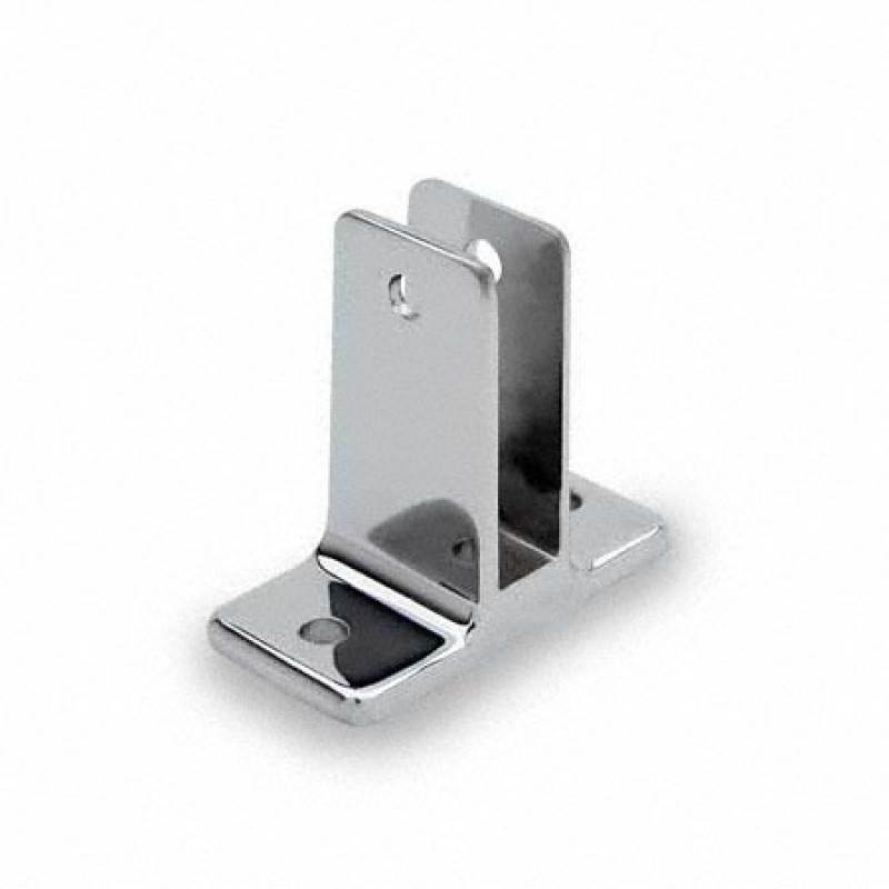 Bathroom Partition, Chrome Plated, Two Ear Wall Bracket 1156