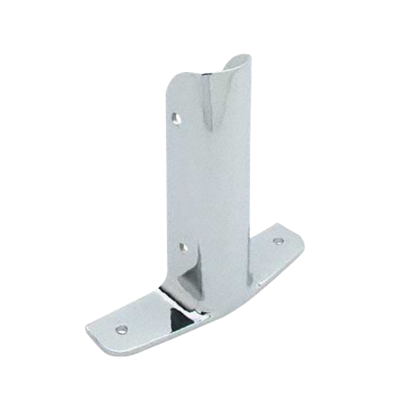 "Chrome Plated Zamac, Urinal Screen Wing Bracket for 1-1/4"" Material - 1250"