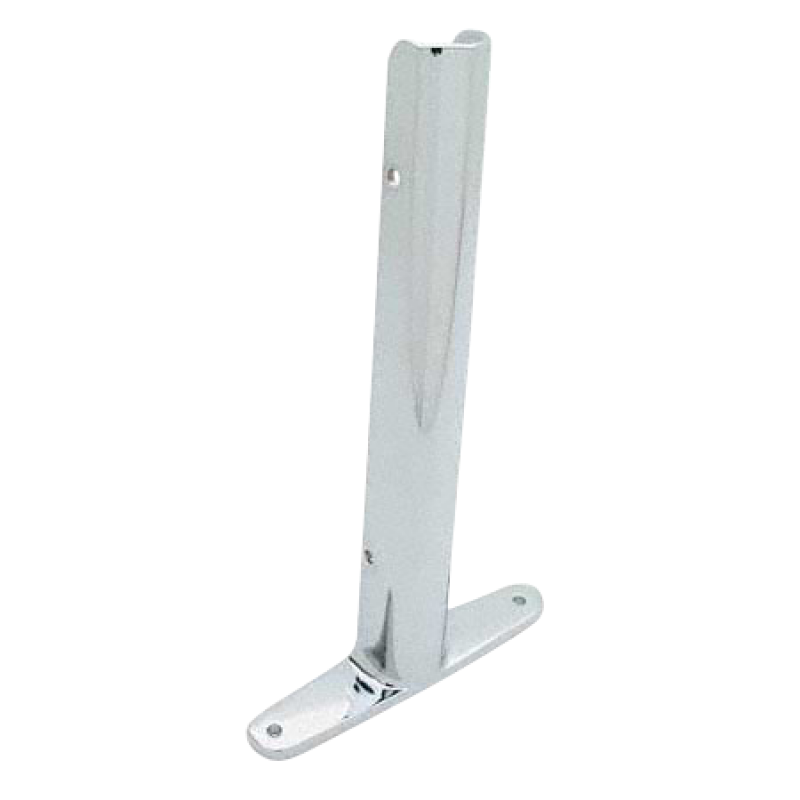 "Chrome Plated Zamac, Urinal Screen Wing Bracket for 1"" Material - 1270"
