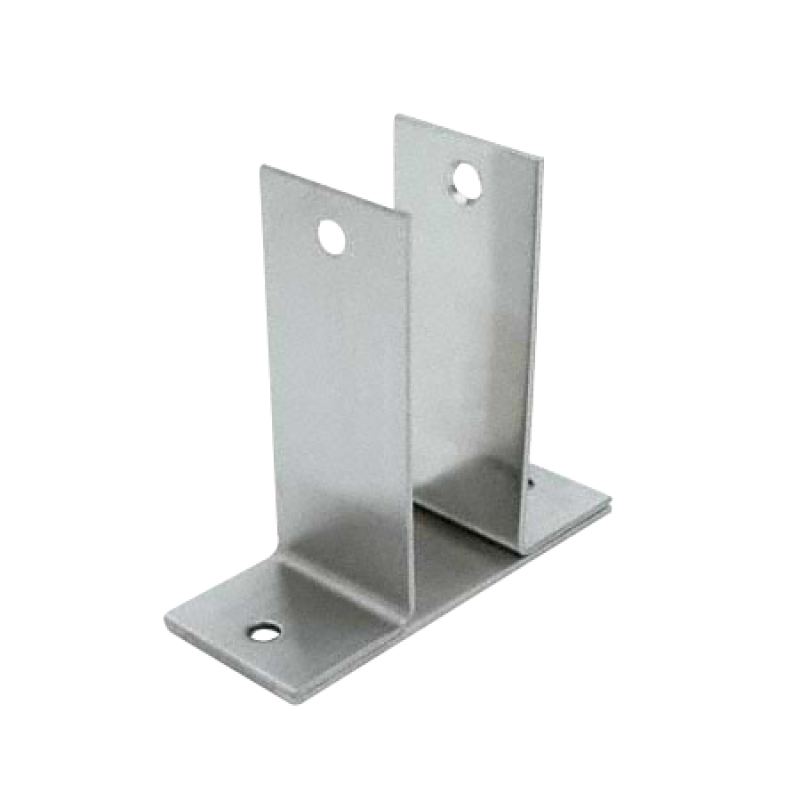 Stamped Stainless Steel, X-High Wall Bracket 1339