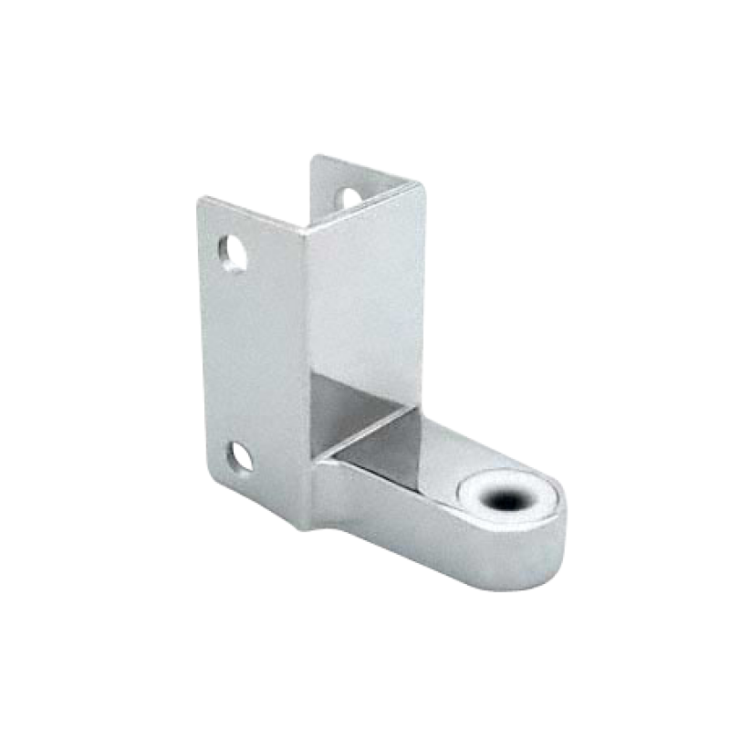 Chrome Plated Zamac, Wraparound Top Hinge 1376
