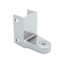 "Chrome Plated Zamac, Door Hinge Bracket For 1-1/4"" Material - 1379"
