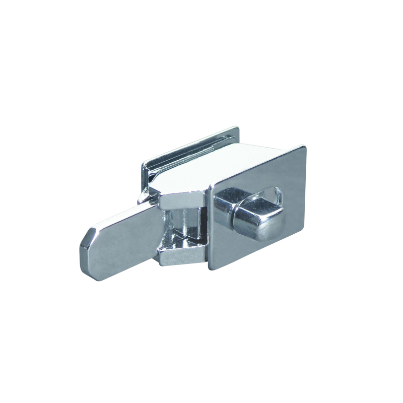 Restroom Compartment, Chrome Plated, Concealed Mount, Slide Latch  1424