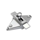 Bathroom Partition Door Chrome Plated Surface Mounted Diamond Shaped Bathroom Slide Latch 1502