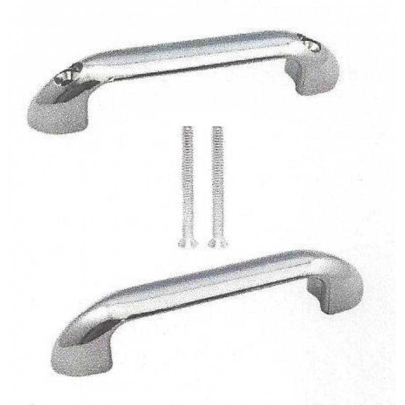 Chrome Plated Door Pulls Back To Back W/Fasteners 15440