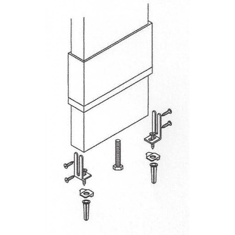 Pilaster Anchoring Kit 17403