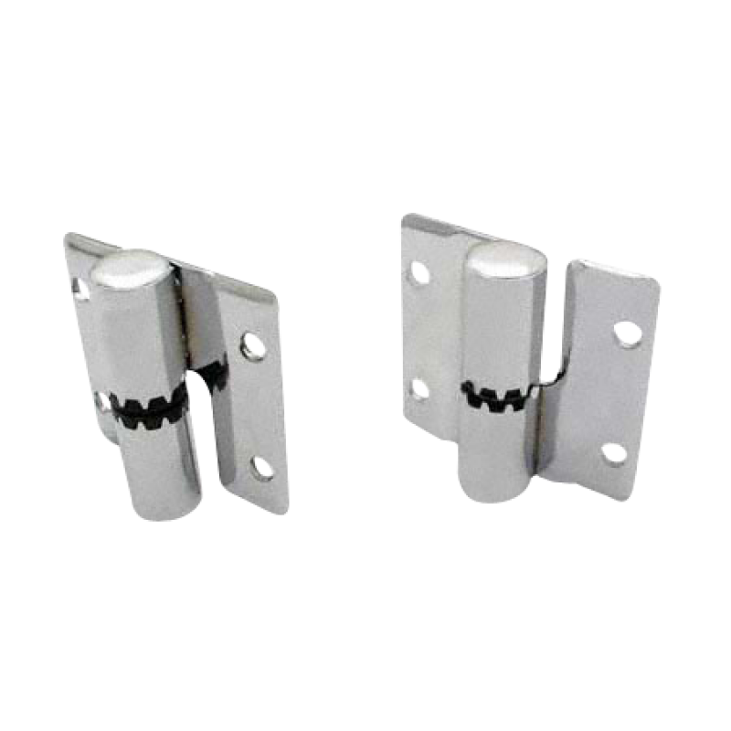 Chrome Plated Brass, Surface Mounted Door Hinges 2702