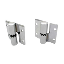 Chrome Plated Brass, Surface Mounted Door Hinge 2714
