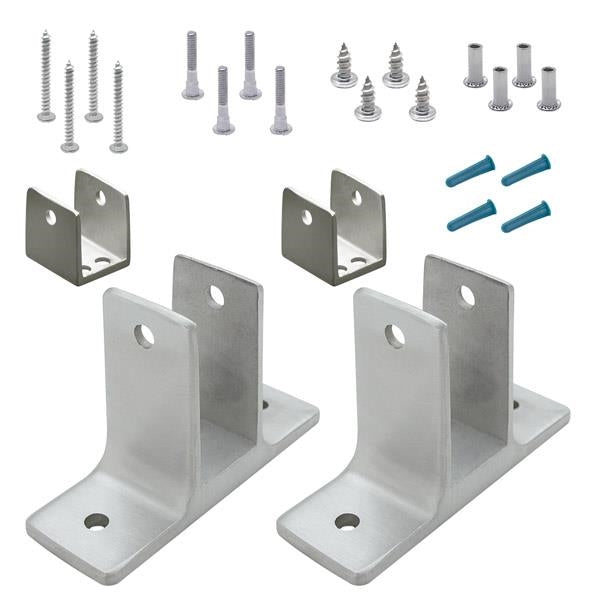 "Cast Stainless Steel, 2 Ear Panel Pack For 7/8"" Material - 41502"