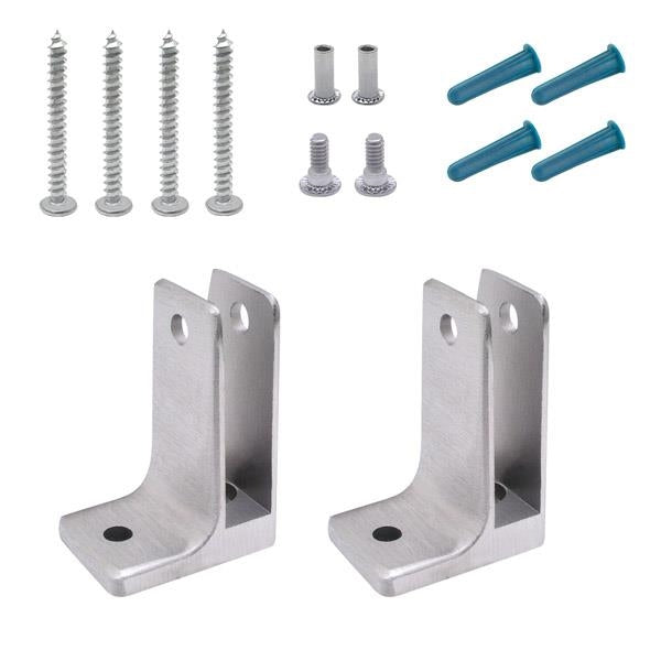 "Cast Stainless Steel, 1 Ear Pilaster Pack For 1/2"" Material 41519"