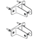 Cast Stainless Steel, 2 Ear Prepackaged Pilaster Pack 41520