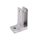 "Cast Stainless Steel, One Ear Wall Bracket For 1/2"" Material - 4157"