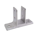 "Cast Stainless Steel, Urinal Screen Bracket for 7/8"" Material - 4160"